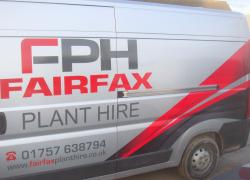 New livery for Fairfax Plant Hire