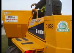 NEW ARRIVALS AT FAIRFAX PLANT HIRE