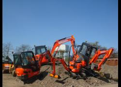 New Kubota Excavators for Fairfax